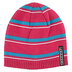 Dare 2B - Boys Pink/blue inherant bobble beanie