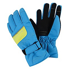 Dare 2B - Boys Blue flag down water-repellent glove