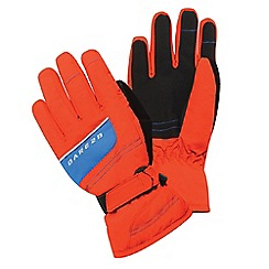 Dare 2B - Boys Orange/blue flag down water-repellent glove