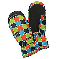 Dare 2B - Boys Lime green handover water-repellent mitt