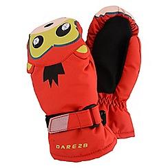 Dare 2B - Boys Fiery red snowplow insulated mitt