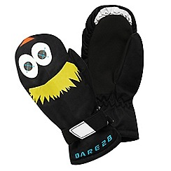 Dare 2B - Boys Black snowplow insulated mitt