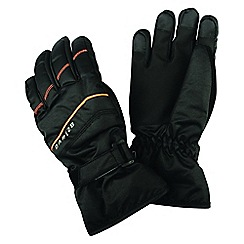 Dare 2B - Black 'Flag Down' kids ski gloves
