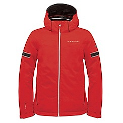 Dare 2B - Boys Fiery red seeker waterproof sports jacket