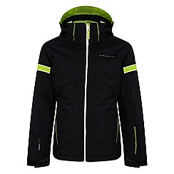 Dare 2B - Boys Black seeker waterproof sports jacket