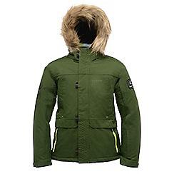 Dare 2B - Kids Green strike force waterproof sports jacket