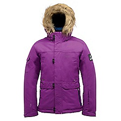 Dare 2B - Kids Purple strike force waterproof sports jacket