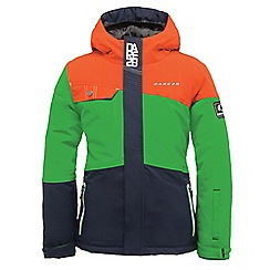 Dare 2B - Boys Orange furor waterproof mountain jacket