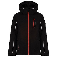 Dare 2B - Kids Black Dedicate waterproof ski jacket