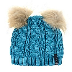 Dare 2B - Girls Blue quickthink winter warm beanie