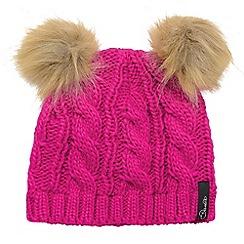 Dare 2B - Girls Electric pink quickthink winter warm beanie
