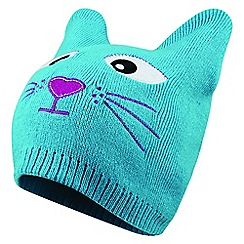 Dare 2B - Blue 'Watch Out' kids beanie hat