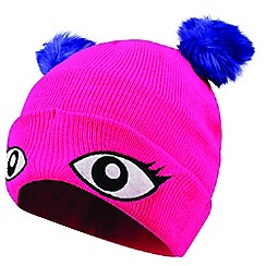 Dare 2B - Pink 'Watch Out' kids beanie hat
