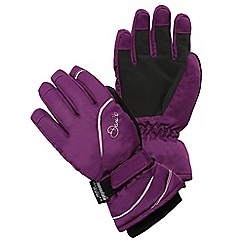 Dare 2B - Girls Purple guided waterproof/breathable glove