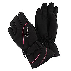 Dare 2B - Girls Black guided waterproof/breathable glove