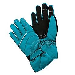 Dare 2B - Kids Blue Hand pick water-repellent ski glove