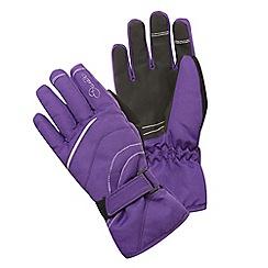 Dare 2B - Kids Purple Hand pick water-repellent ski glove