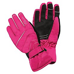 Dare 2B - Girls Electric pink hand pick water-repellent glove