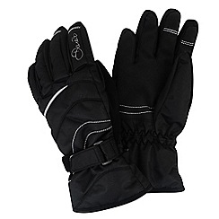 Dare 2B - Girls Black hand pick water-repellent glove