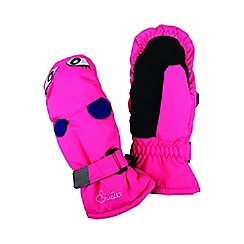 Dare 2B - Pink 'Watch Out' kids ski mitts