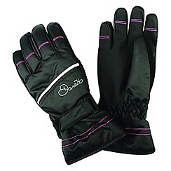 Dare 2B - Black 'Hand Pick' kids ski gloves