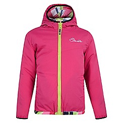 Dare 2B - Girls Electric pink consort reversible insulated jacket