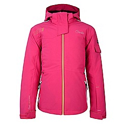 Dare 2B - Girls Electric pink merriment waterproof snow jacket
