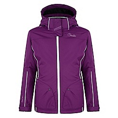 Dare 2B - Girls Purple radiant waterproof sports jacket