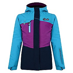 Dare 2B - Girls Blue snowdrift waterproof mountain jacket