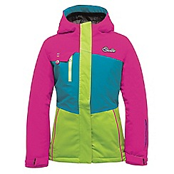 Dare 2B - Girls Electric pink snowdrift waterproof mountain jacket
