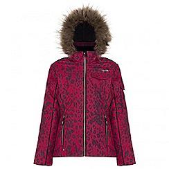 Dare 2B - Kids Pink Entrust waterproof ski jacket