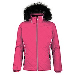 Dare 2B - Pink 'Relucent' kids waterproof ski jacket