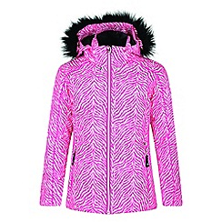 Dare 2B - Pink 'Entrust'' kids waterproof ski jacket