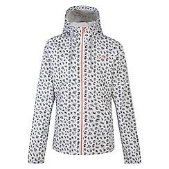 Dare 2B - Girls' white trepid waterproof jacket