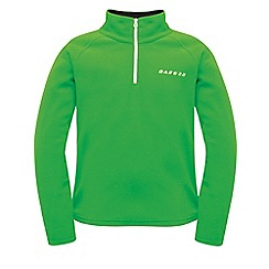 Dare 2B - Kids Green freeze jam half-zip fleece
