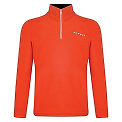 Dare 2B - Kids Orange freeze jam half-zip fleece