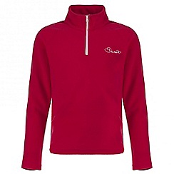 Dare 2B - Kids Pink Freeze jam half-zip fleece