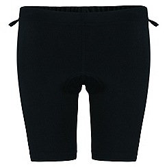Dare 2B - Kids Black stay seated cycle shorts