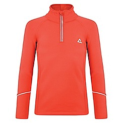 Dare 2B - Kids Fiery red ricochet mid-layer core stretch fleece