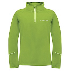Dare 2B - Kids Lime green ricochet mid-layer core stretch fleece