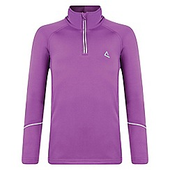 Dare 2B - Kids Purple ricochet mid-layer core stretch fleece