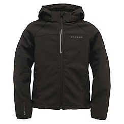 Dare 2B - Kids Black advocate softshell jacket