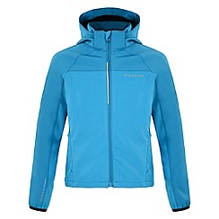 Dare 2B - Blue jewel kids advocate softshell jacket