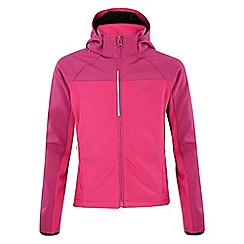 Dare 2B - Kids Electric pink advocate softshell jacket