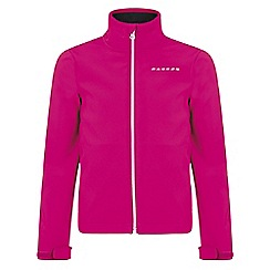 Dare 2B - Girls Pink Derive softshell jacket