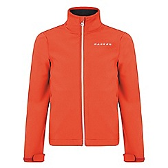 Dare 2B - Kids Fiery red derive softshell jacket