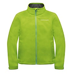Dare 2B - Kids Lime green derive softshell jacket