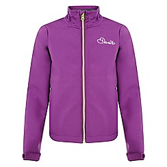 Dare 2B - Kids Purple derive softshell jacket