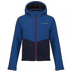 Dare 2B - Kids Blue Outpour softshell jacket