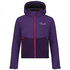 Dare 2B - Kids Purple Outpour softshell jacket